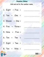 Number-name-worksheet-10
