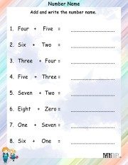 Number-name-worksheet-4