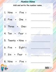 Number-name-worksheet-8