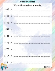 Number-names-worksheet 8