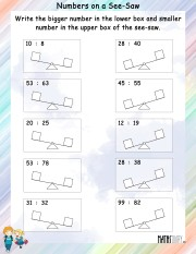 Numbers-on-a-see-saw-worksheet-2