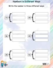 Same-number-different-ways-worksheet-1