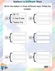 Same-number-different-ways-worksheet-2