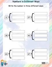 Same-number-different-ways-worksheet-5