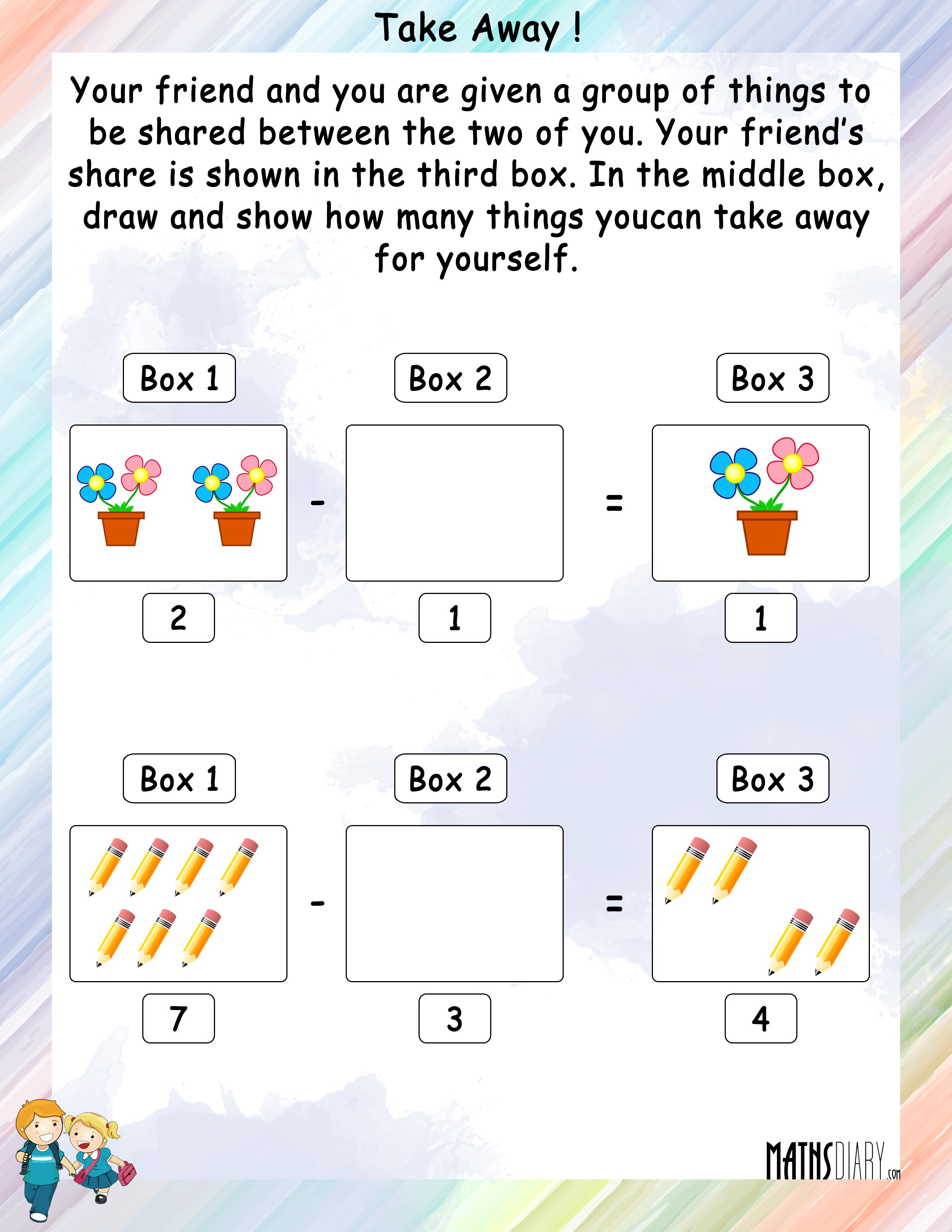 math games, math writing, math ideas, math journals, math tables, math activities, math multiplication, math lessons, math for kindergarteners, math quizzes, math tips, math paper, math workbooks, math printables, math printouts, math handouts, math flashcards, on taking away maths worksheet