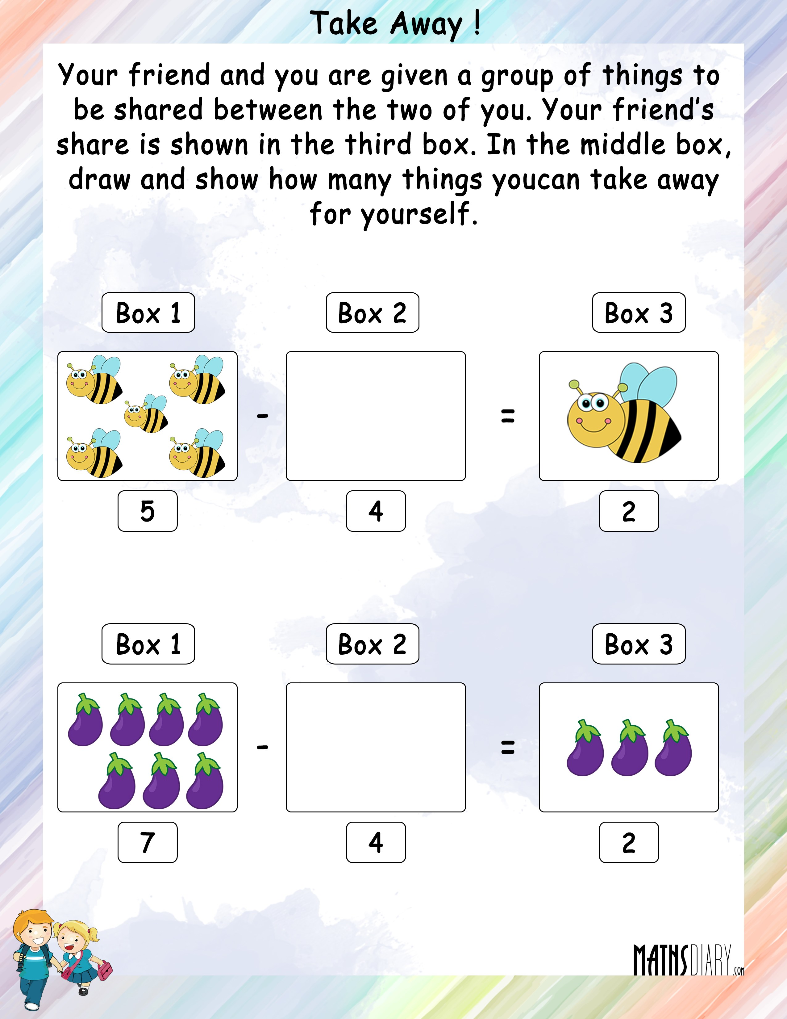 Practical Maths Grade 1 Math Worksheets Page 7