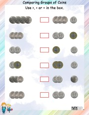 comparing-group-of-coins-worksheet- 10