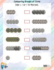 comparing-group-of-coins-worksheet- 2