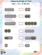 comparing-group-of-coins-worksheet- 9