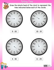 draw-the-minute-hand-worksheet- 12