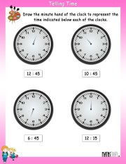 draw-the-minute-hand-worksheet- 5