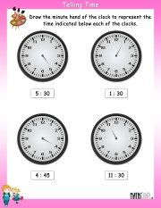 draw-the-minute-hand-worksheet- 9