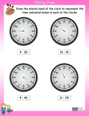 telling-time-worksheet- 2