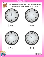 telling-time-worksheet- 3