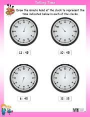 telling-time-worksheet- 9